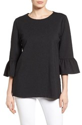 Halogenr Women's Halogen Ruffle Sleeve Tunic