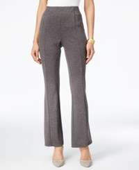 Ny Collection Pull On Bootcut Pants Charcoal