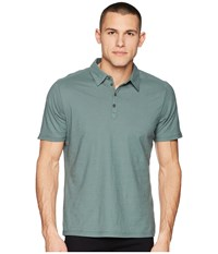 Nau Short Sleeve Basis Polo Balsam Short Sleeve Knit Green