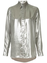 Ralph Lauren Collection Longsleeved Metallic Shirt