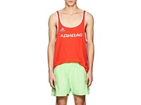 Gosha Rubchinskiy Logo Cotton Blend Tank Red