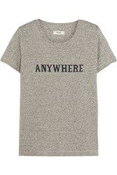 Madewell Anywhere Printed Hemp And Cotton Blend Jersey T Shirt