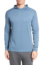 Tasc Performance Men's Carrollton Regular Fit Pullover Hoodie Indigo Heather
