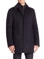 Sanyo Wool Cashmere Blend Jacket Midnight
