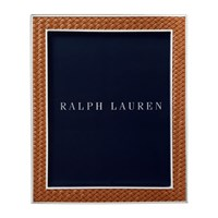 Ralph Lauren Home Brockton Photo Frame Saddle 8X10 Brown