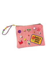 Venessa Arizaga 'Nice Day' Embellished Pouch