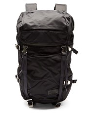 Master Piece Lightning Nylon Backpack Black