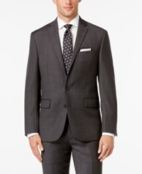 Ryan Seacrest Distinction Men's Slim Fit Gray Windowpane Suit Jacket Only At Macy's