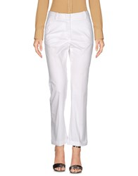 Cappellini By Peserico Casual Pants White