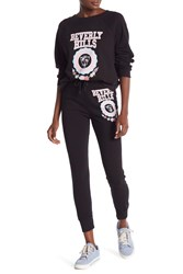 Wildfox Couture Beverly Hills Crest Jack Joggers Clean Black