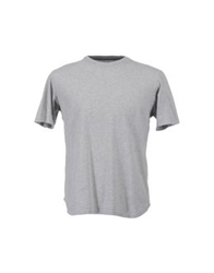 Single Dress Single Short Sleeve T Shirts Grey