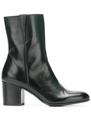 Pantanetti Side Zip Ankle Boots Black