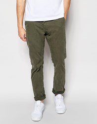 Only And Sons Slim Fit Chinos Green