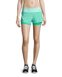 Asics Fit Sana 2 N 1 Sport Shorts Cool Mint