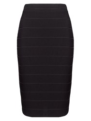 Phase Eight Elise Jersey Pencil Skirt Black