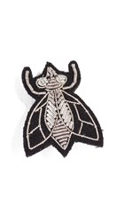 Macon And Lesquoy Fly Pin Silver