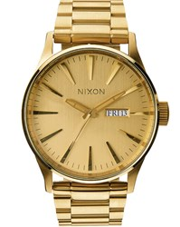 Nixon All Gold Sentry Ss Watch Yellow