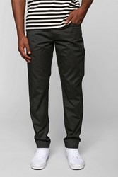 Your Neighbors Wax Coated Twill Pant Black