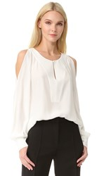 Barbara Bui Long Sleeve Blouse Off White