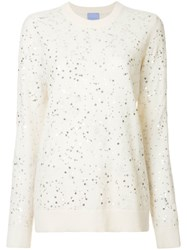 Macgraw The Constellation Jumper White