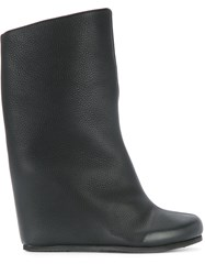Peter Non Uma Wedge Boots Women Calf Leather Leather Rubber 37 Black