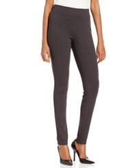 Style And Co. Skinny Leg Printed Pull On Leggings Only At Macy's Tiny Twinkle