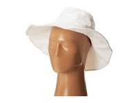 Hat Attack Canvas Sunhat With Wire Brim White Traditional Hats