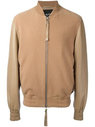 Blood Brother Sand Bomber Jacket Brown
