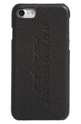 Burberry Leather Iphone 7 Case Black