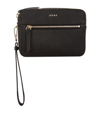 Dkny Bryant Park Wristlet Clutch Female Black