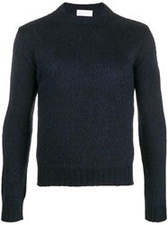 Haikure Mohair Jumper Blue