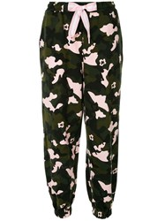 The Upside Camouflage Print Joggers Multicolour