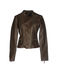 Fornarina Coats And Jackets Jackets Women Brown