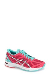 Women's Asics 'Gel Ds Trainer 21' Running Shoe Diva Pink White Turquoise