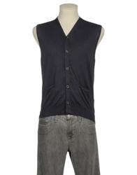 Drumohr Sweater Vests Dark Blue