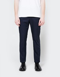Marni Slim Pant Blue Navy