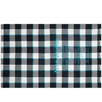 Acne Studios Cassiar Check Scarf White