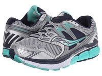 Saucony Redeemer Silver Green Blue Women's Running Shoes Multi