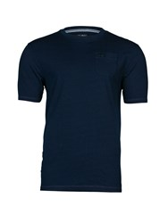 Raging Bull Plain T Shirt With Pocket Indigo