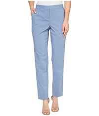 Vince Camuto Front Zip Ankle Pants Stormy Blue Women's Casual Pants