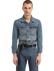 Vetements Levi's Cropped Denim Jacket
