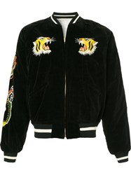 Fake Alpha Vintage 1950S Souvenir Jacket Black