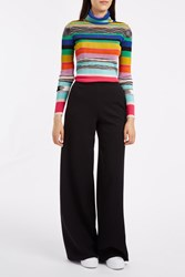 Missoni Punto Wool Trousers Black