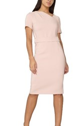 Dorothy Perkins Women's Asymmetrical Pencil Dress Pink