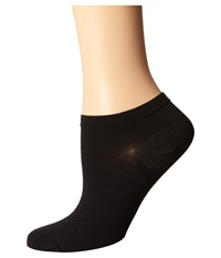 Wolford Sneaker Cotton Socks Black Women's Crew Cut Socks Shoes