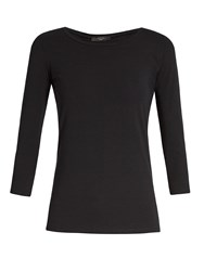 Max Mara Multi C T Shirt Black