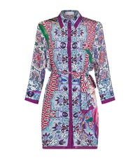 Gottex Belted Silk Dress Female Multi