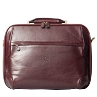 Maxwell Scott Bags Luxury Brown Leather Laptop The Volterra