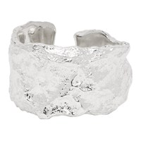 Pearls Before Swine Silver Forged Spacer Textured Ring