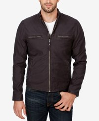 Lucky Brand Men's Bedford Racer Jacket Phantom